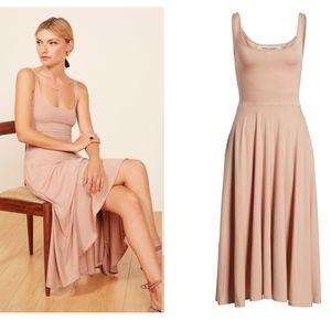Reformation | NWT Rou Midi Dress with Pockets